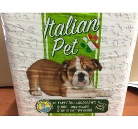 Italian pet tappetini assorbenti per animali 60*60 pz 10