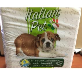 Italian pet tappetini assorbenti per animali 60*90 pz 10