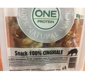 Oasy snack one protein 100% cinghiale 80gr