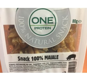 Oasy snack one protein 100% maiale gr 80