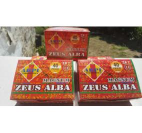 Zeus magnum alba 40 pz