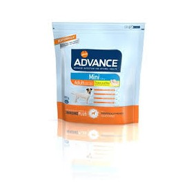 Advance mini adult pollo e riso gr 800