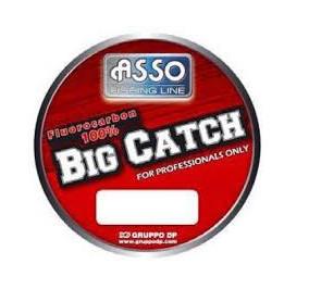 Asso big catch fluorocarbon 100% mt 50 diametro 0,80