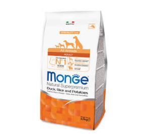 Monge all breeds anatra kg 2,5