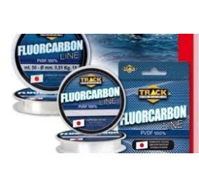 Track line fluorocarbon line PVDF 100% mt 50 diametro 0,30