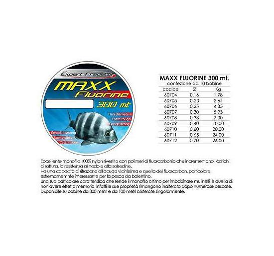 Expert predator maxx fluorine mt 300 diametro 0,30