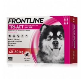 Frontline tri act 40-60 kg 6 fialette
