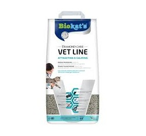 Gimborn biokat's vet line attracting e calming 8 lt
