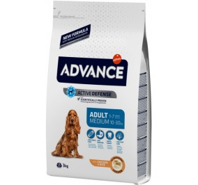 Advance medium adult pollo e riso kg 3
