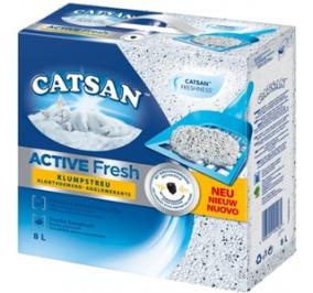 Sabbia cat san active fresh 8 litri