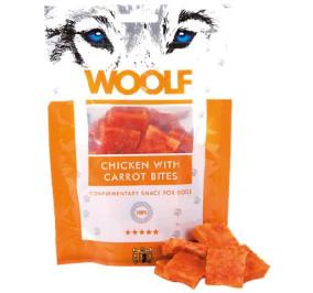 Woolf pollo con morsi di carota gr 100