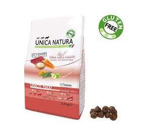 Gheda unica natura maxi cervo, riso e carote kg 2,5