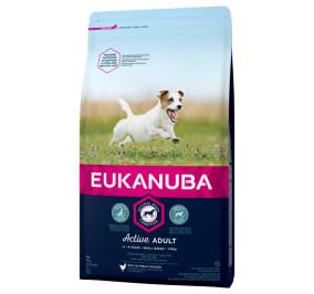 Eukanuba small breed ricco di pollo kg 1