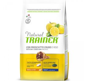 Natural trainer small e toy prosciutto crudo e riso kg 7