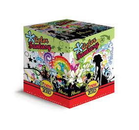 New pirotecnic 2000 color fantasy 16 colpi