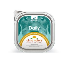 Almo nature daily con pollo, prosciutto e formaggio gr 300