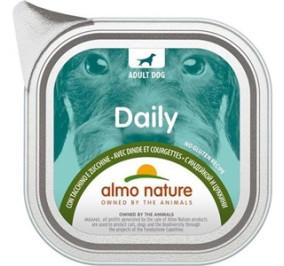 Almo nature daily con tacchino e zucchine gr 300