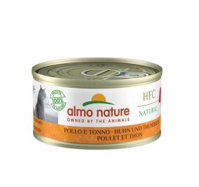 Almo nature HFC natural pollo e tonno gr 70