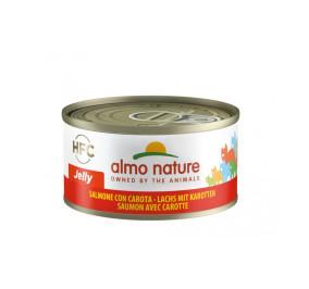 Almo nature HFC jelly salmone con carota gr 70