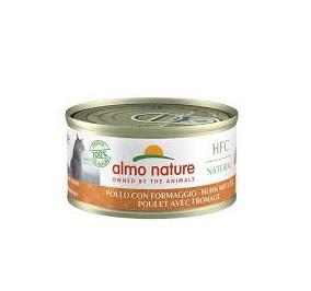 Almo nature HFC natural pollo con formaggio gr 70