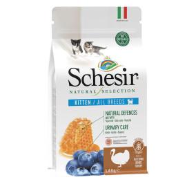Schesir natural selection kitten con tacchino gr 350