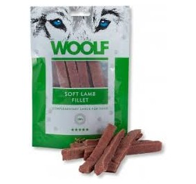 Woolf snack cane morbido filetto di agnello gr 100