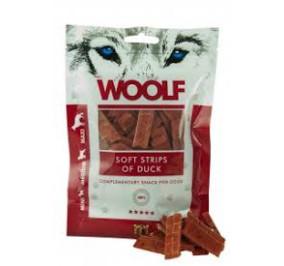 Woolf snack cane striscia morbida di anatra gr 100
