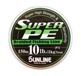 Sunline super pe 10LB metri 150