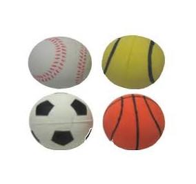Ferribiella Palle sport in gommapiuma 9 cm