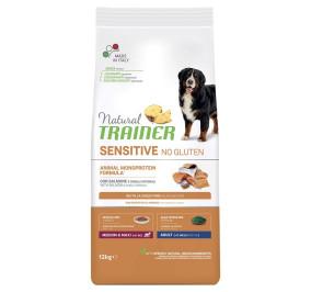 Natural trainer sensitive medium e maxi salmone e cereali integrali kg 3