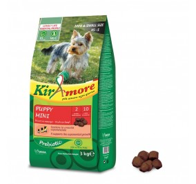 Gheda kiramore puppy mini ricco di manzo kg 3
