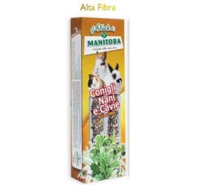 Manitoba stick conigli nani e cavie alta fibra gr 70